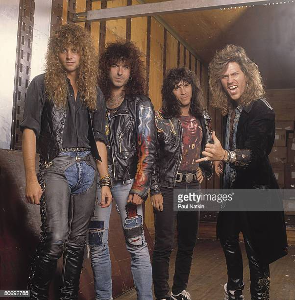 Winger on 9/27/90 in Chicago Il
