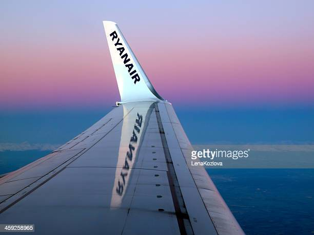 Winglet of Ryanair aircraft