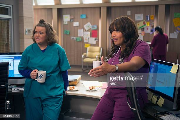 "Wingmen"" Episode 108 -- Pictured: Betsy Sodaro as Angela, Kym Whitley as Juanita --"