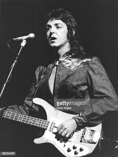 Wings 1973 Paul McCartney