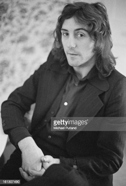 Wings guitarist Denny Laine at the offices of the group's publicist Tony Brainsby 7th December 1972
