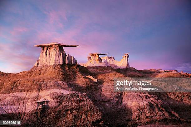 wings over bisti - new mexico stock pictures, royalty-free photos & images