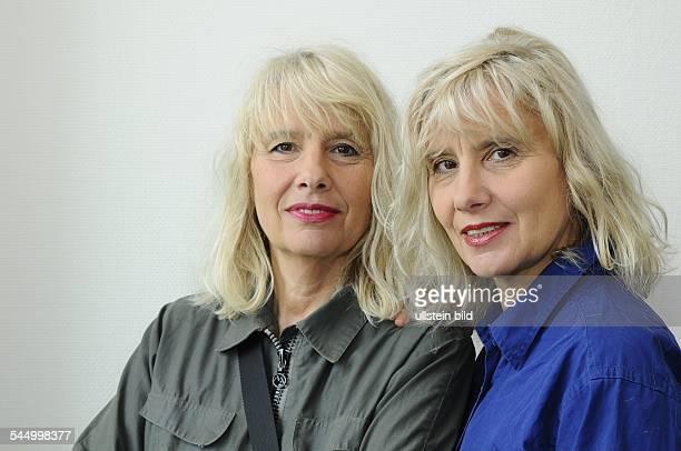 Winkelmann Jutta Author FilmMaker Germany with twin sister Gisela Getty