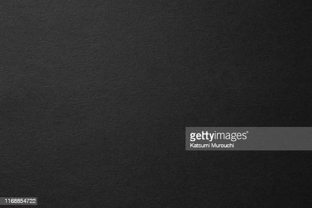 winkled black paper texture background - black stock pictures, royalty-free photos & images