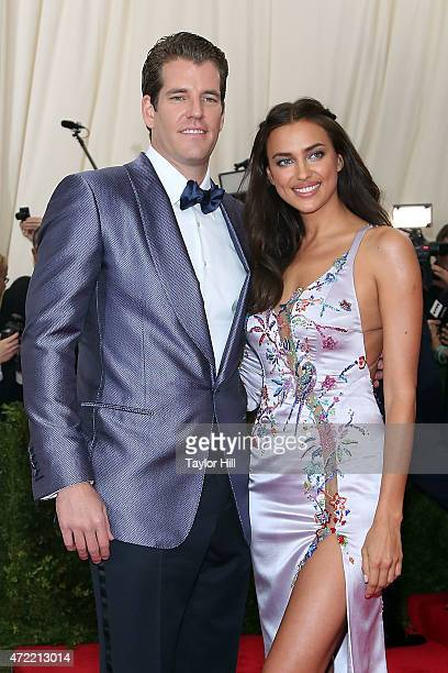 Winklevoss twin and Irina Shayk attend China Through the Looking Glass the 2015 Costume Institute Gala at Metropolitan Museum of Art on May 4 2015 in...