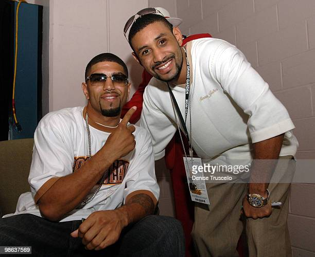 Winky Wright and Diego Corrales