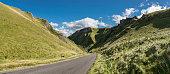 Winnats Pass, Castleton, Peak District, England
