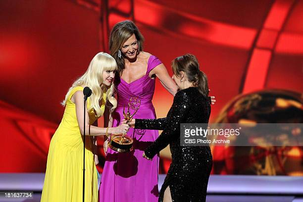 Winner Abi Morgan during the 65th Primetime Emmy Awards which will be broadcast live across the country 8001100 PM ET/ 500800 PM PT from NOKIA...