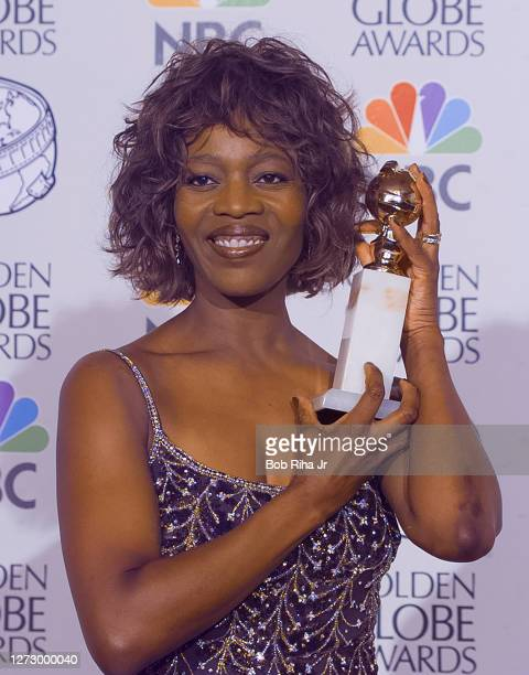 Winner Alfre Woodard at the 55th Annual Golden Globes Awards Show, January 18, 1998 in Beverly Hills, California.