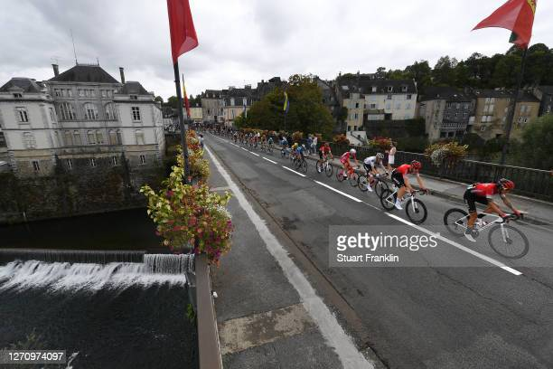 Winner Andrew Anacona of Colombia and Team Arkea - Samsic / Connor Swift of United Kingdom and Team Arkea - Samsic / Nikias Arndt of Germany and Team...