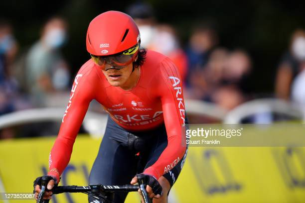 Winner Andrew Anacona of Colombia and Team Arkea - Samsic / during the 107th Tour de France 2020, Stage 20 a 36,2km Individual Time Trial stage from...