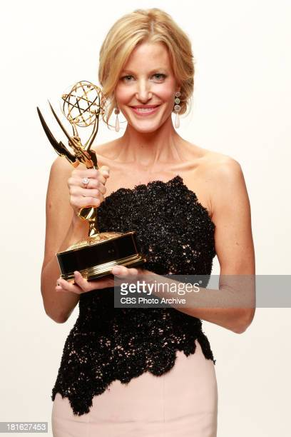 Winner Anna Gunn Supporting Actress in a Drama series for BREAKING BAD during the 65th Primetime Emmy Awards which will be broadcast live across the...