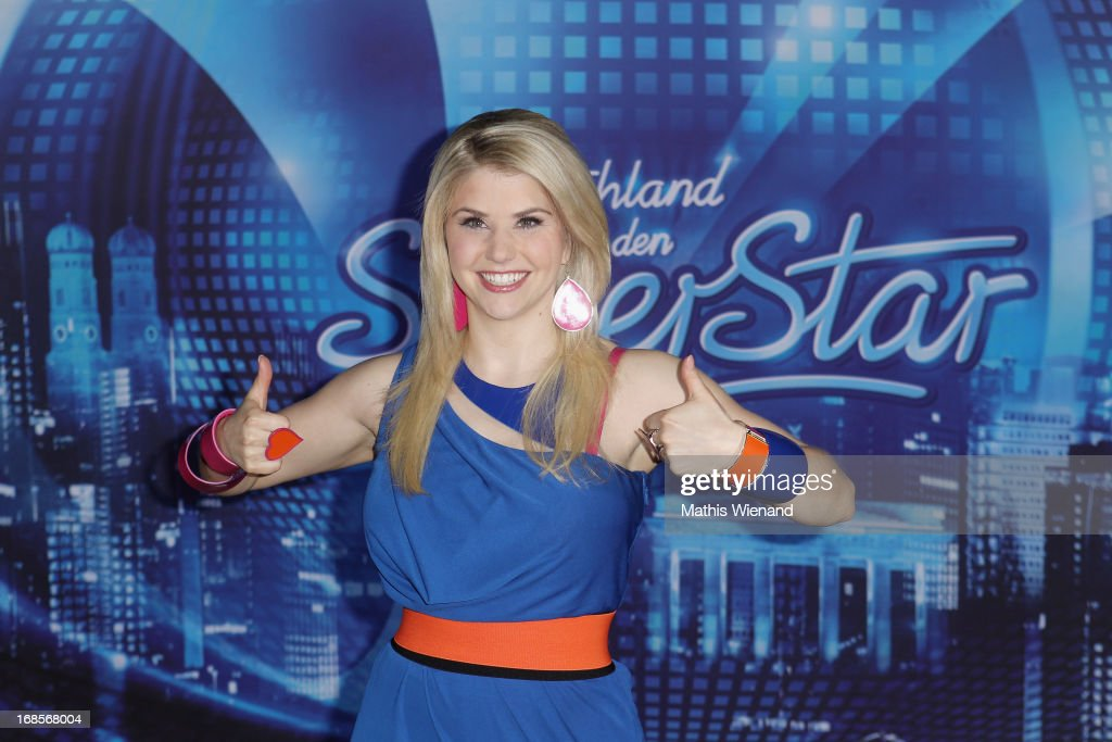DSDS winner Beatrice Egli on May 11, 2013 in Cologne, Germany.