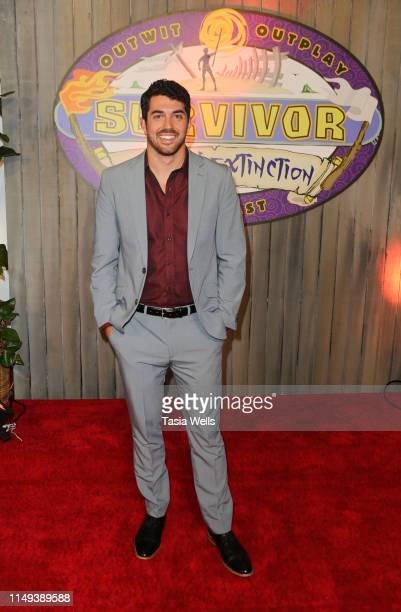 """Winner Chris Underwood attends the Red Carpet Event for CBS' """"Survivor"""" Finale at CBS Studio Center on May 15, 2019 in Studio City, California."""