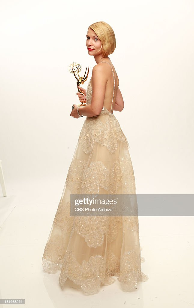Winner, Claire Danes, for Outstanding Lead Actress in a Drama Series for HOMELAND during the 65th Primetime Emmy Awards which will be broadcast live across the country 8:00-11:00 PM ET/ 5:00-8:00 PM PT from NOKIA Theater L.A. LIVE in Los Angeles, Calif., on Sunday, Sept. 22 on the CBS Television Network.