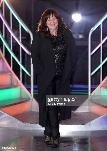 Winner Coleen Nolan leaves the Celebrity Big Brother house on February 3 2017 in Borehamwood United Kingdom