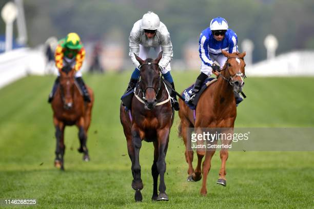 Winner Dee Ex Bee ridden by William Buick during the Irish Thoroughbred Marketing Royal Ascot TwoYearOld Trial Conditions Stakes at Ascot Racecourse...