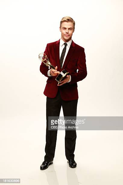 Winner Derek Hough for Outstanding Choreography for DANCING WITH THE STARS during the 65th Primetime Emmy Awards which will be broadcast live across...