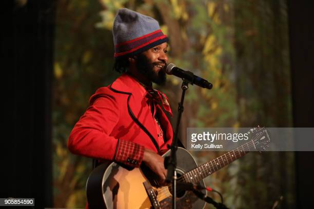 Winner Fantastic Negrito performs onstage at the San Francisco 60th GRAMMY Award Nominee Celebration on January 16 2018 in San Francisco California