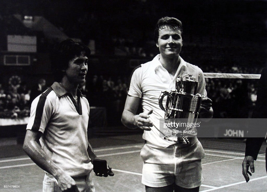 Badminton - All England Badminton Championships - Men's Final - Fleming Delfs v Liem Swie King - Wembley : News Photo