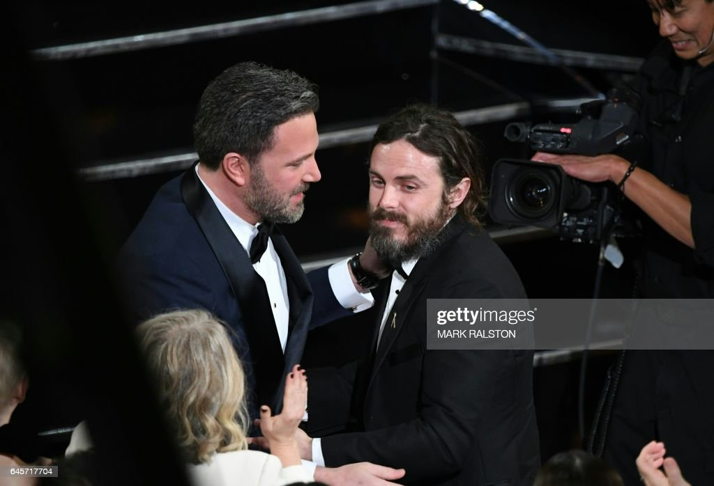 TOPSHOT-US-OSCARS-SHOW : News Photo