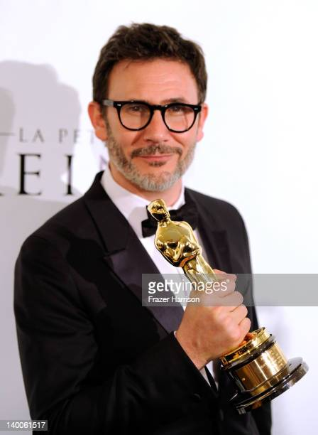 Winner for Best Director for 'The Artist' Michel Hazanavicius arrives at The Weinstein Company's 84th Annual Academy Awards After Party at Mondrian...