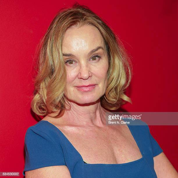 Winner for outstanding actress in a play Long Day's Journey Into Night Jessica Lange attends the 66th Annual Outer Critics Circle Theatre Awards held...