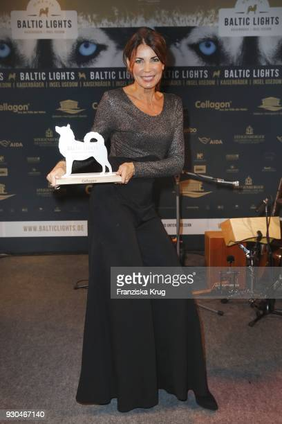 Winner Gerit Kling during the 'Baltic Lights' charity event on March 10 2018 in Heringsdorf Germany The annual event hosted by German actor Till...