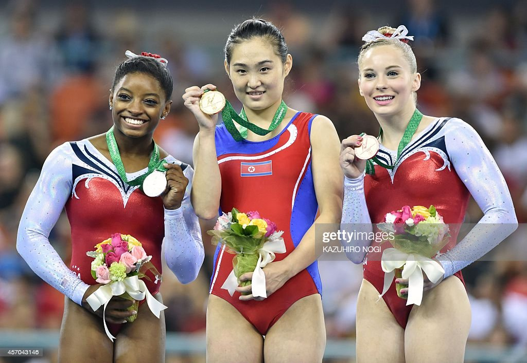 CORRECTION-GYMNASTICS-WORLD-CHN : News Photo