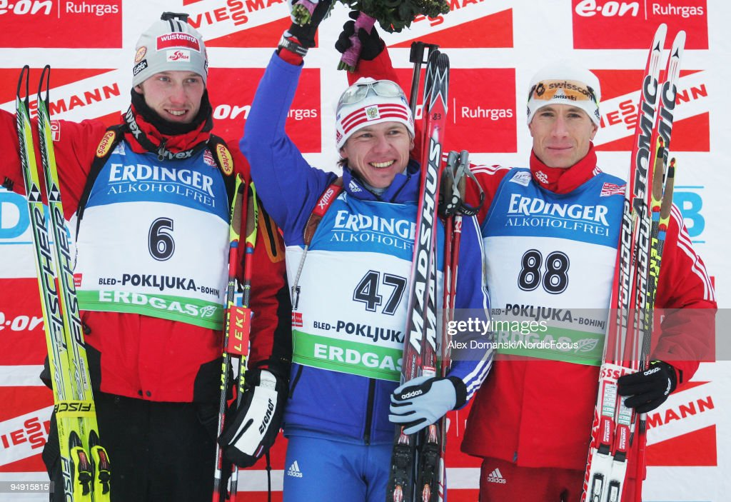 Ruhrgas IBU Biathlon World Cup - Men's Day 3