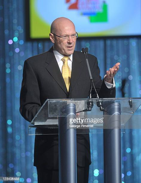 Winner Jim Bannon attends the 26th Annual Gemini Awards - Industry Gala at the Metro Toronto Convention Centre on August 30, 2011 in Toronto, Canada.