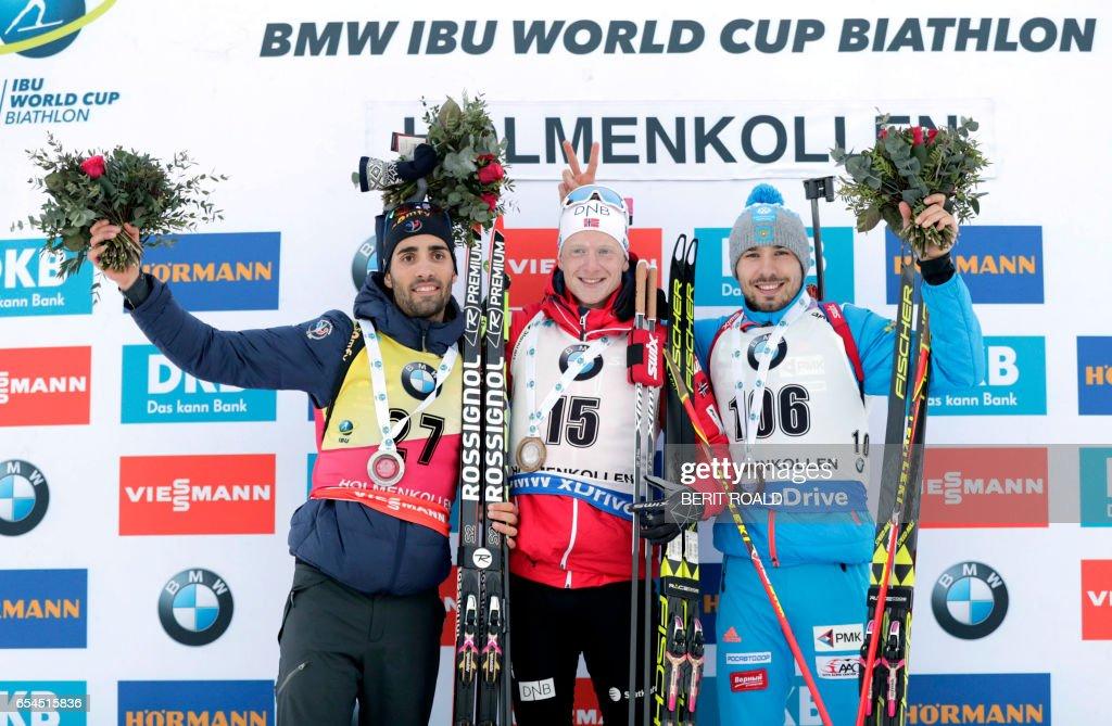 BIATHLON-WORLD-CUP-NOR : News Photo