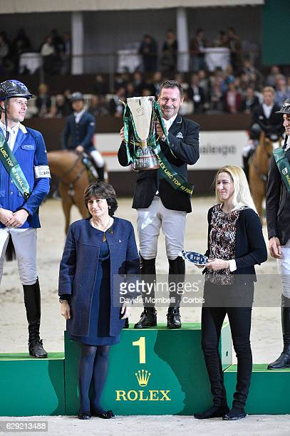winner LAMAZE Eric of Canada riding Fine Lady 5 during the prize giving cerimony Eleonora Ottaviani 16th Rolex IJRC Top 10 Final International...