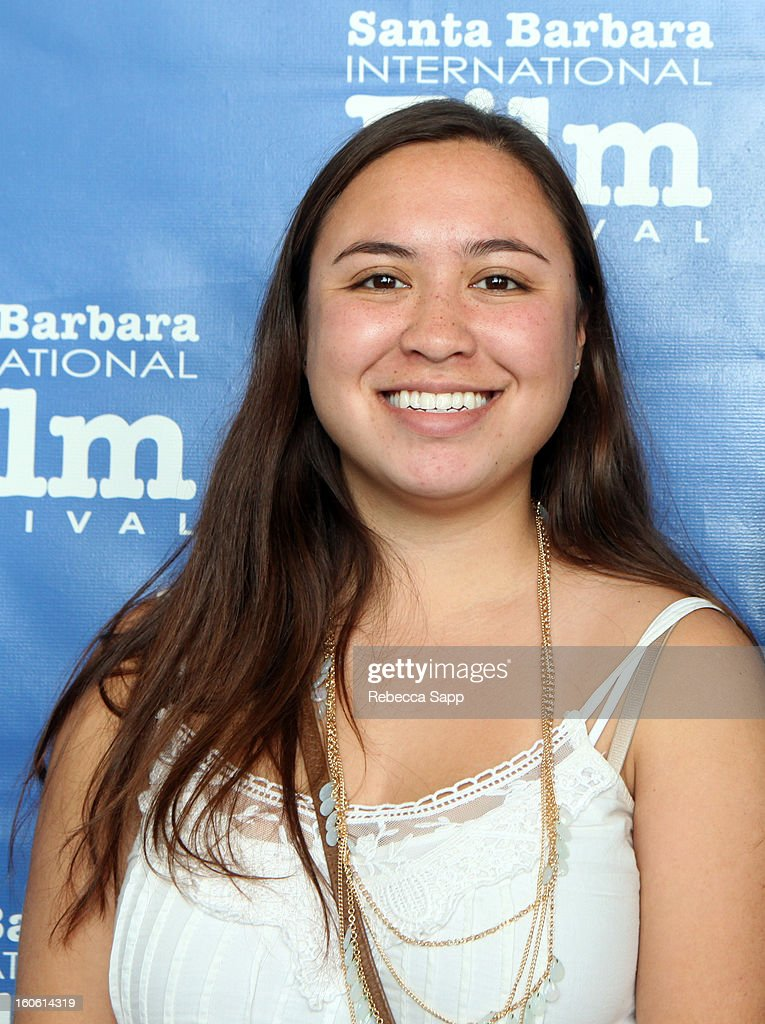 10-10-10 winner Leanne Sturman attends the 28th Santa Barbara International Film Festival Awards Breakfast on February 3, 2013 in Santa Barbara, California.