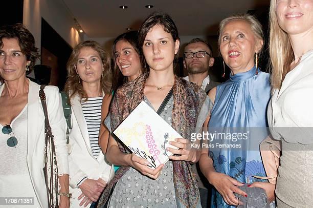 Winner Lise Charles attends the 'Prix du Premier Roman de Femme 8eme Edition' during the 'Montalembert Literary Awards 2013' at Hotel Montalembert on...