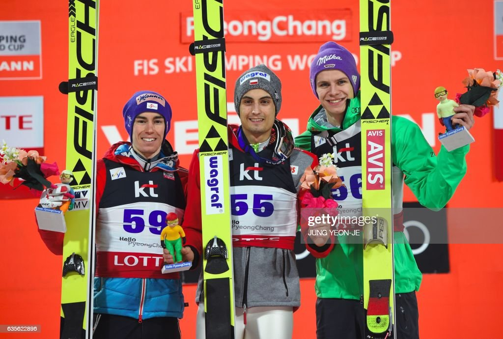 SKI-JUMPING-KOR-WORLD : News Photo