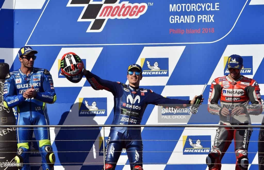 MOTO-PRIX-AUS-PODIUM : News Photo