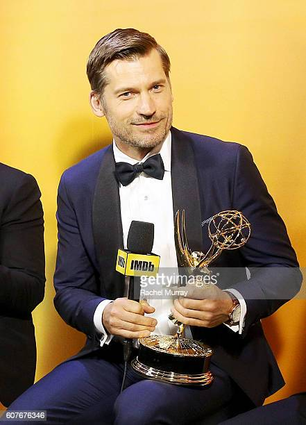 Winner Nikolaj CosterWaldau attends IMDb Live After The Emmys presented by TCL on September 18 2016 in Los Angeles California