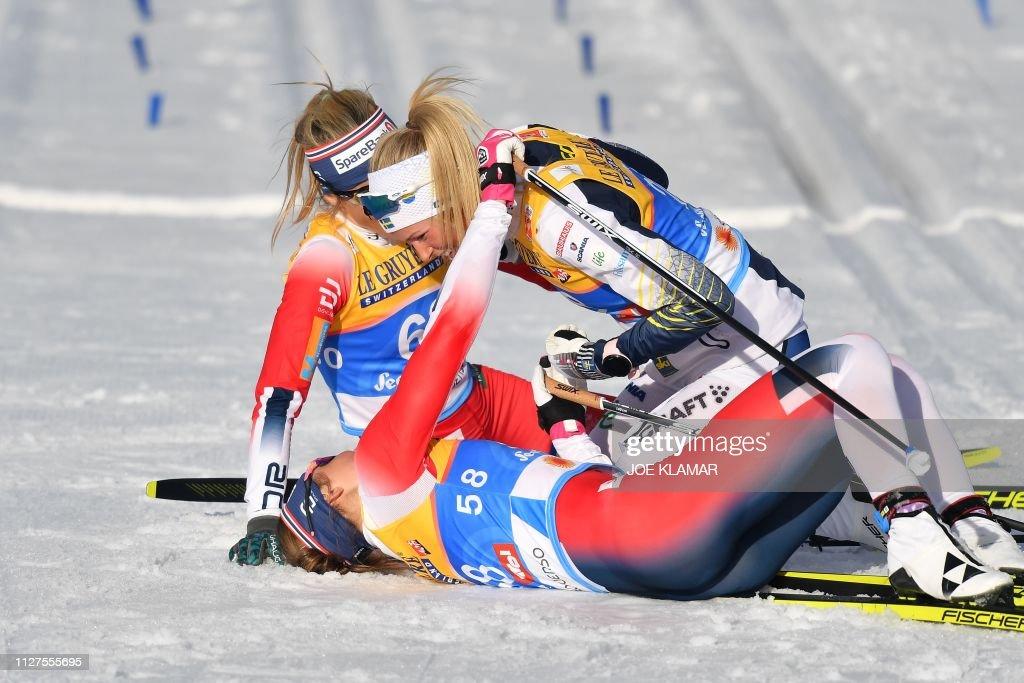 NORDIC-SKI-WOMEN-CROSS-COUNTRY : News Photo