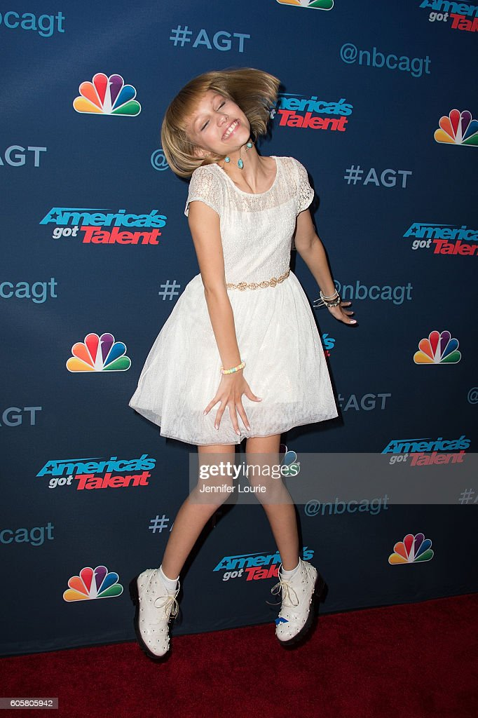Winner of 'America's Got Talent' Season 11 Grace Vanderwaal arrives at the 'America's Got Talent' Season 11 Finale Live Show at the Dolby Theatre on September 14, 2016 in Hollywood, California.