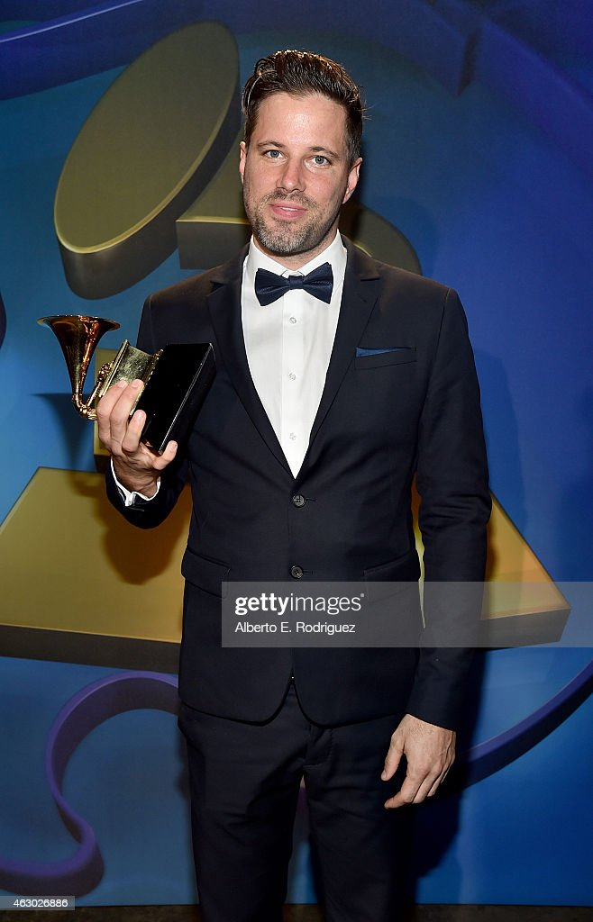 Winner of Best Contemporary Christian Music Performance Ricky Jackson poses at the Premiere Ceremony during The 57th Annual GRAMMY Awards at Nokia Theatre L.A. LIVE on February 8, 2015 in Los Angeles, California.