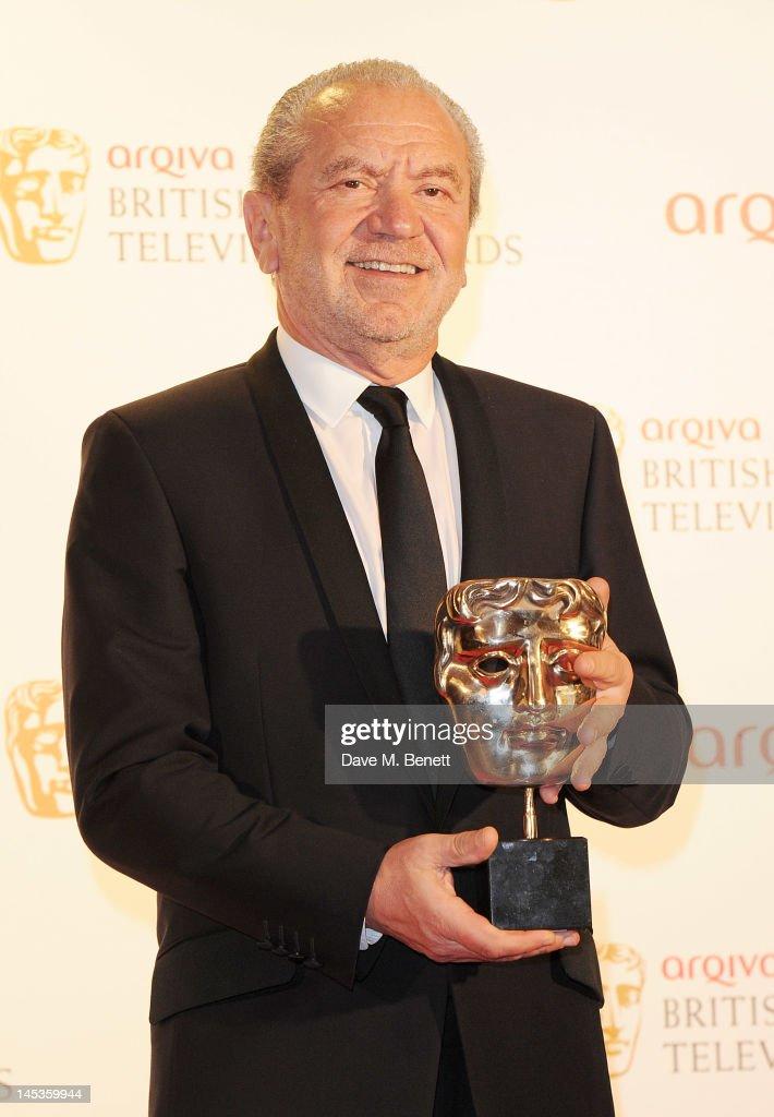 The Arqiva British Academy Television Awards 2012 - Winners Boards