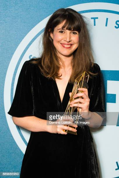 Winner of Best Screenplay Alice Birch at the British Independent Film Awards at Old Billingsgate in London