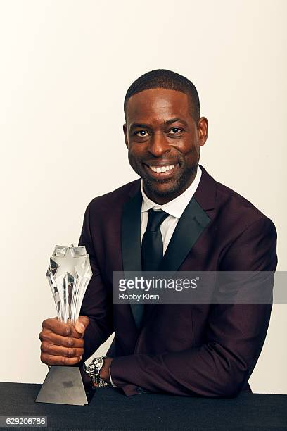 Winner of Best Supporting Actor in a Movie Made for Television or Limited Series for The People v OJ Simpson Sterling K Brown poses for a portrait...