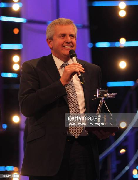 Winner of Coach of the Year 2010, European Ryder Cup Golf Team captain Colin Montgomerie during the BBC Sport Personality of the Year Awards at the...