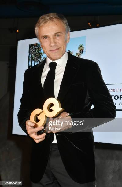 Winner of GQ's 2018 Special Award actor Christoph Waltz attends GQ Men Of The Year Awards 2018 at Centre Pompidou on November 26 2018 in Paris France