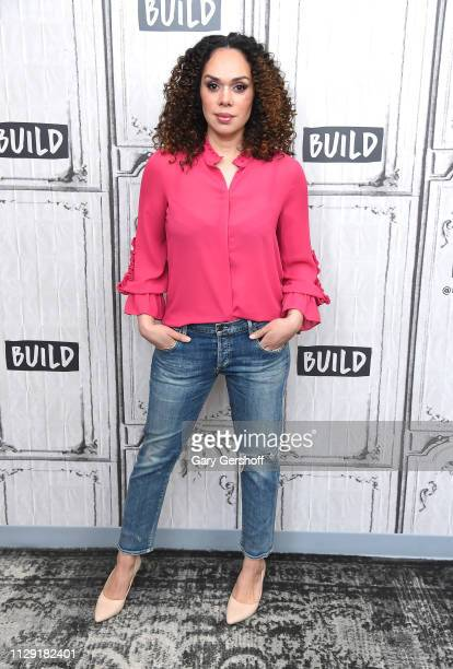 Winner of 'Hell's Kitchen Rookies vs. Veterans' season 18 chef Ariel Fox visits the Build Brunch at Build Studio on February 12, 2019 in New York...