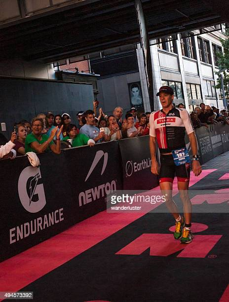 Winner of Louisville Ironman Triathalon 2015