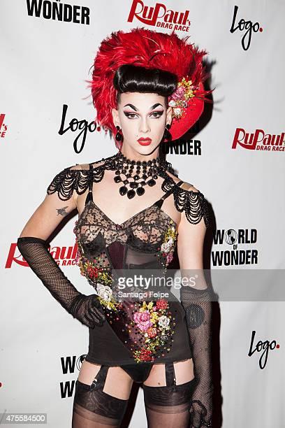 Winner of RuPaul's Drag Race Season 7 Violet Chachki at Stage48 on June 1 2015 in New York City