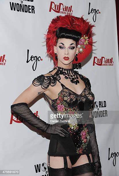 Winner of Rupaul's Drag Race Season 7 Violet Chachki attends 'RuPaul's Drag Race' Season 7 Finale And Coronation on June 1 2015 in New York City
